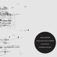 PALA MILAN / PALOVA KATARINA  - CD LEOS JANACEK / VIOLIN AND VIOLA WORKS