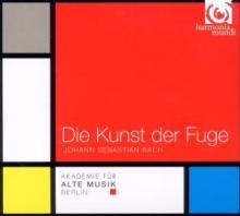 BACH J. S.  - CD DIE KUNST DER FUGE