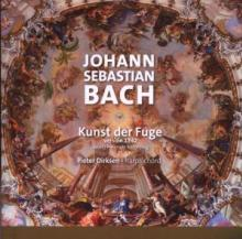 BACH JOHANN SEBASTIAN  - CD KUNST DER FUGE