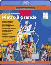 GAETANO DONIZETTI (1797-1848)  - BRD PIETRO IL GRANDE [BLURAY]