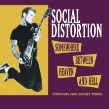 SOCIAL DISTORTION  - CD SOMEWHERE BETWEEN..