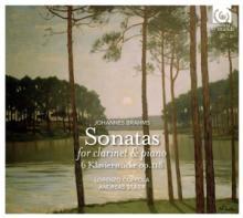 BRAHMS J. / COPPOLA LORENZO / ..  - CD SONATAS FOR CLARI..