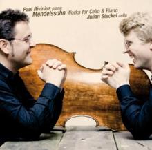 MENDELSSOHN BARTHOLDY FELIX  - CD CELLO & PIANO WORKS