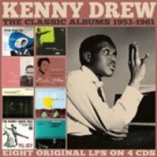 KENNY DREW  - 4xCD THE CLASSIC ALB..