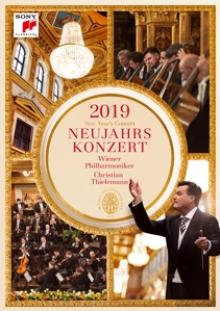 WIENER PHILHARMONIKER  - DVD NEW YEAR'S CONCERT 2019