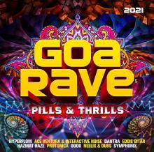 VARIOUS  - CD+DVD GOA RAVE 2021..