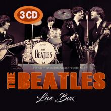 BEATLES  - 3xCD LIVE BOX (3CD)