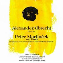 LUCNICA CHORUS / SLOVAK SINFON..  - CD A. ALBRECHT / P.MARTINCEK