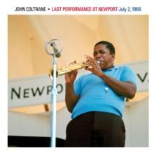 COLTRANE JOHN  - CD LAST PERFORMANCE AT NEWPORT 1966