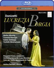 GAETANO DONIZETTI (1797-1848)  - BRD LUCREZIA BORGIA [BLURAY]