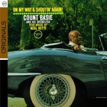 COUNT BASIE ORCHESTRA  - CD ON MY WAY AND SHOUTIN' AGAIN
