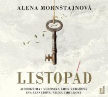 AUDIOKNIHA  - CD MORNSTAJNOVA ALENA: LISTOPAD (MP3-CD)