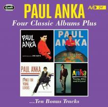 PAUL ANKA  - CD FOUR CLASSIC ALBUMS PLUS