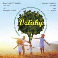 AUDIOKNIHA BARICAK HIRAX PAVEL  - CD VZTAHY (MP3-CD)