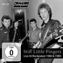 STIFF LITTLE FINGERS  - 3xDVD LIVE AT ROCKPALAST 1980 & 1989