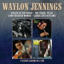 WAYLON JENNINGS  - CD+DVD SINGER OF SAD..