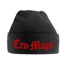CRO-MAGS  - HATS RED LOGO