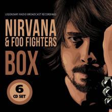 NIRVANA & FOO FIGHTERS  - CDB BOX (6-CD SET)