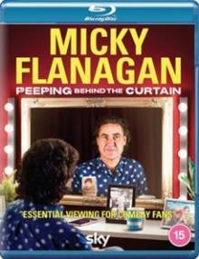 DOCUMENTARY  - BRD MICKY FLANAGAN: PEEPING.. [BLURAY]
