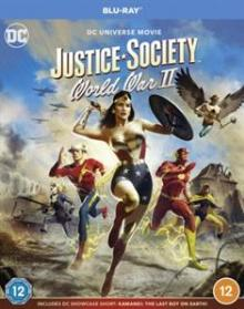 ANIMATION  - BRD JUSTICE SOCIETY: WORLD.. [BLURAY]