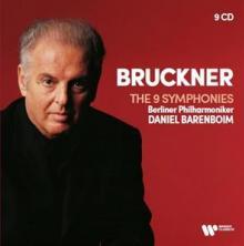 BARENBOIM DANIEL/BERLINER PHI  - 9xCD BRUCKNER: 9 SYMPHONIES