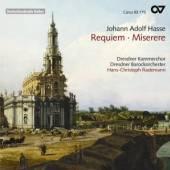 RADEMANN/DRESDNER KAMMERCHOR/D  - CD REQUIEM/MISERERE