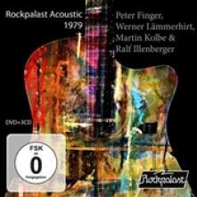 FINGER PETER - WERNER LAEMMERH  - 4xCD+DVD ROCKPALAST ACOUSTIC 1979