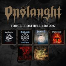 ONSLAUGHT  - 6xCD FORCE FROM.. -BOX SET-