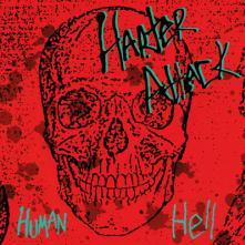 HARTER ATTACK  - CD HUMAN HELL -REISSUE-