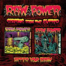 RAW POWER  - CD SCREAMS FROM.. -REISSUE-