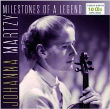MARTZY JOHANNA  - 10xCD MILESTONES OF A LEGEND