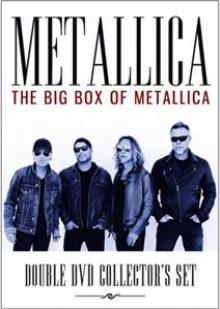 METALLICA  - DV THE BIG BOX OF METALLICA (2DVD)