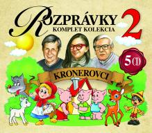 ROZPRAVKY  - 5xCD ROZPRAVKY KRONEROVCI 2 /5CD BOX