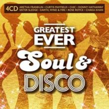 VARIOUS  - CD GREATEST EVER SOUL & DISCO