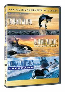FILM  - 3xDVD ZACHRANTE WILLYHO TRILOGIE 3DVD