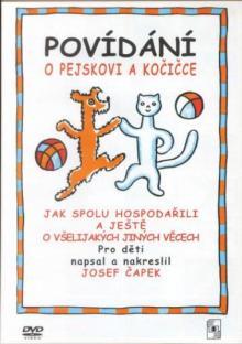 ROZPRAVKA  - DVD POVIDANI O PEJSKOVI A KOCICCE