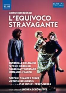 ROSSINI G.  - DVD L'EQUIVOCO STRAVAGANTE
