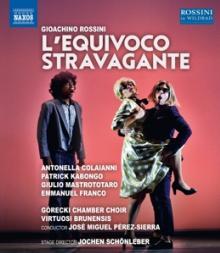 ROSSINI G.  - BRD L'EQUIVOCO STRAVAGANTE [BLURAY]