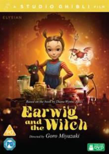 ANIMATION  - DVD EARWIG AND THE WITCH