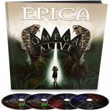 EPICA  - 6xCD+BD OMEGA LIVE EARBOOK LTD.