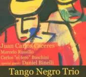 CACERES JUAN CARLOS  - CD TANGO NEGRO TRIO