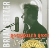 SETZER BRIAN  - CD ROCKABILLY RIOT V..