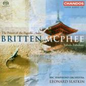 BRITTEN/MCPHEE  - CD PRINCE OF THE PAGODAS - SUITE,