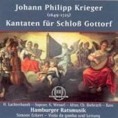 KRIEGER J.P.  - CD KANTATEN FUR SCHLOSS GOTT