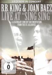 B.B. KING & JOAN BAEZ  - DVD LIVE AT