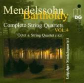 MENDELSSOHN BARTHOLDY FELIX  - CD COMPLETE STRING QUARTETS