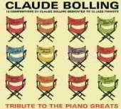 BOLLING CLAUDE  - CD TRIBUTE TO THE PIANO..