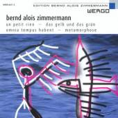 ZIMMERMANN B A  - CD UN PETIT RIEN/METAMORPHOS