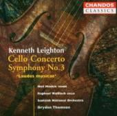 LEIGHTON  - CD CELLO CONCERTO/SYMPHONY N