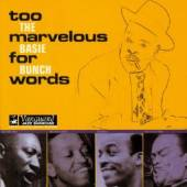 COUNT BASIE BUNCH  - CD TOO MARVELOUS FOR WORDS